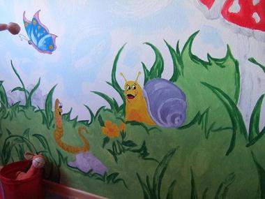 kinderzimmer privathaushalt - Wandbemalung Kinderzimmer